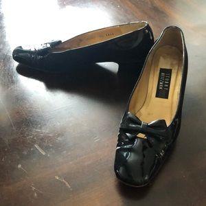 Vintage Stuart Weitzman Heels with Bow Tie